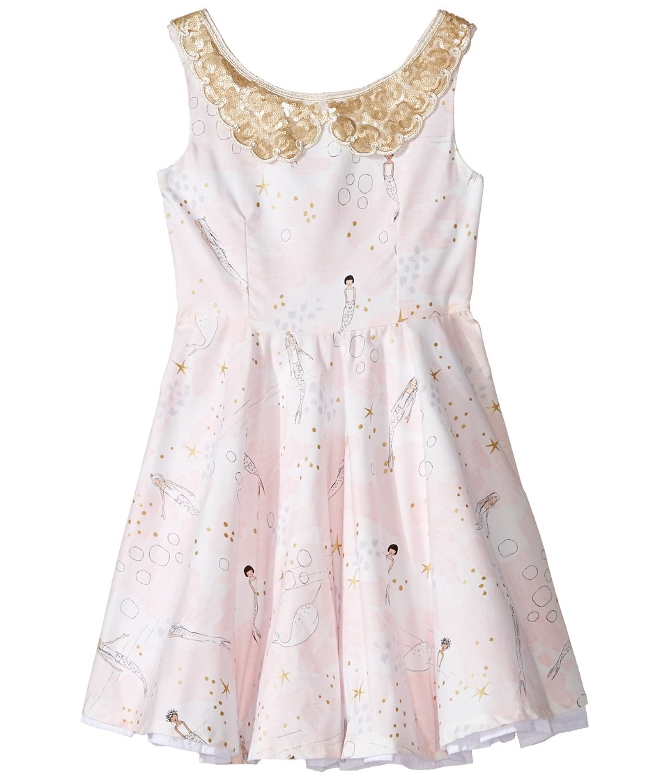 fiveloaves twofish - Mermaid Party Dress (Toddler/Little Kids/Big Kids) (Pale Pink) Girl's Dress