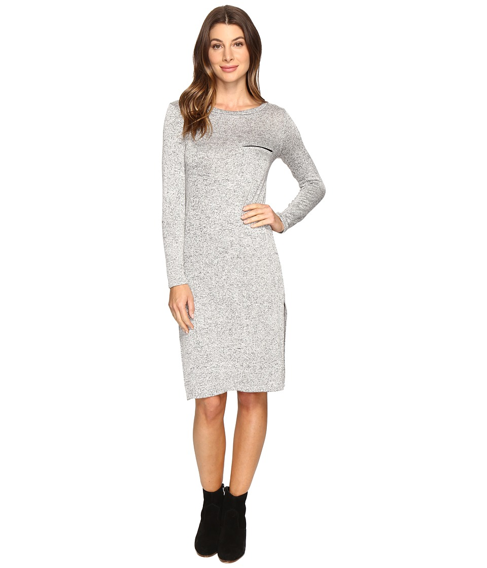 Culture Phit - Angelina Knit Dress (Heather Grey) Women's Dress