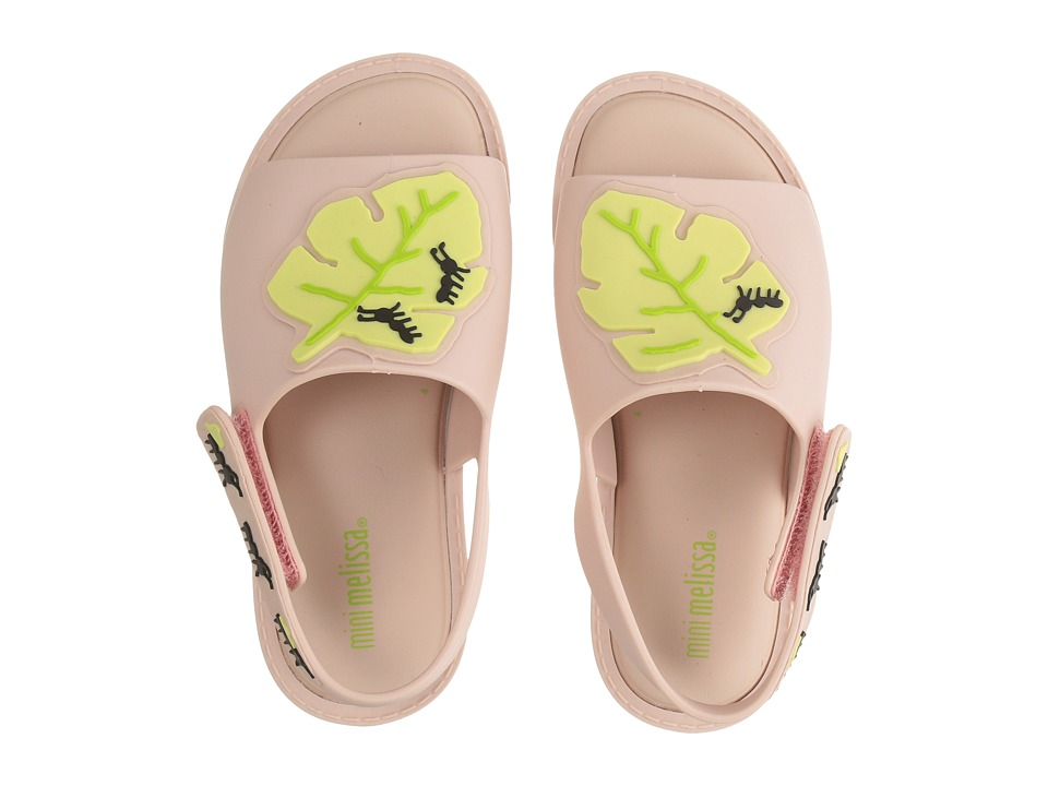 Mini Melissa - Mia + Fabula II (Toddler/Little Kid) (Pink) Girl's Shoes