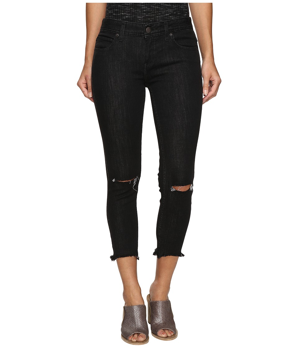 Free People - Jeans Skinny Destroyed in Carbon (Carbon) Women's Jeans