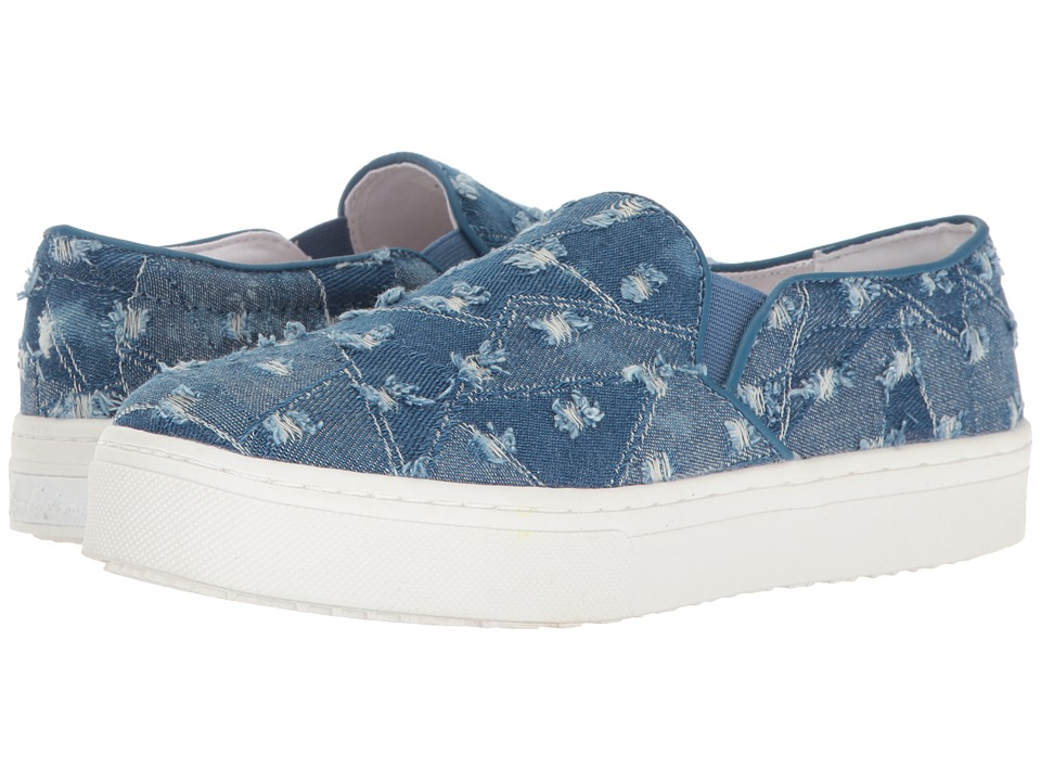Sam Edelman - Lacey (Medium Blue Denim Star Fabric) Women's Slip on Shoes