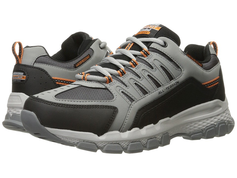 SKECHERS - Outland 2.0 Rip Staver (Charcoal/Black) Men's Shoes