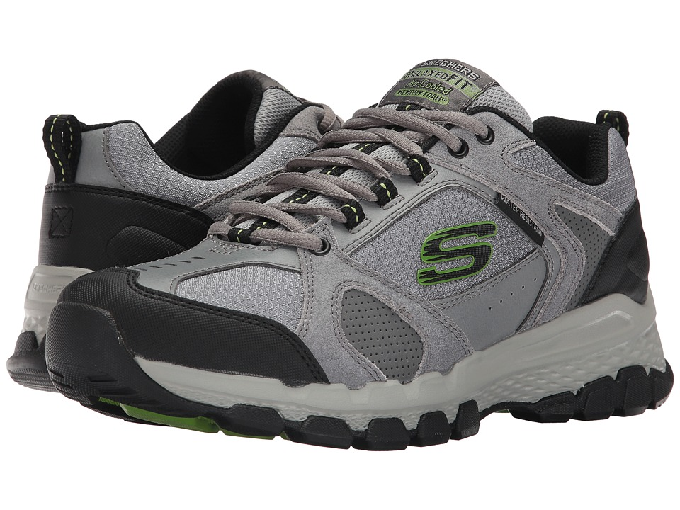 SKECHERS - Outland 2.0 (Gray/Black) Men's Shoes