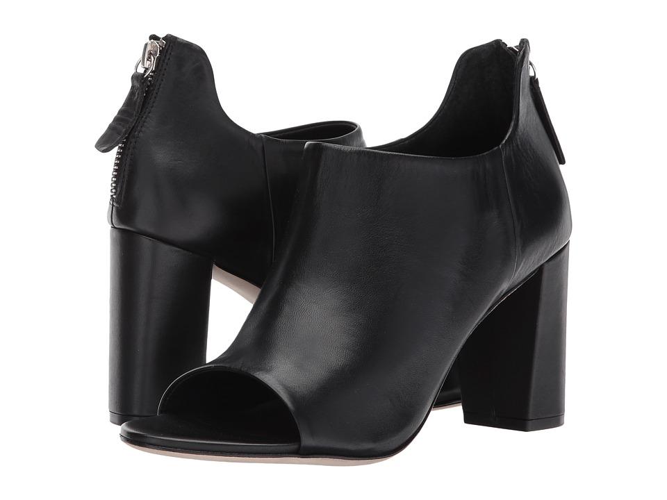 Bernardo Heather (Black Glove Leather) Women