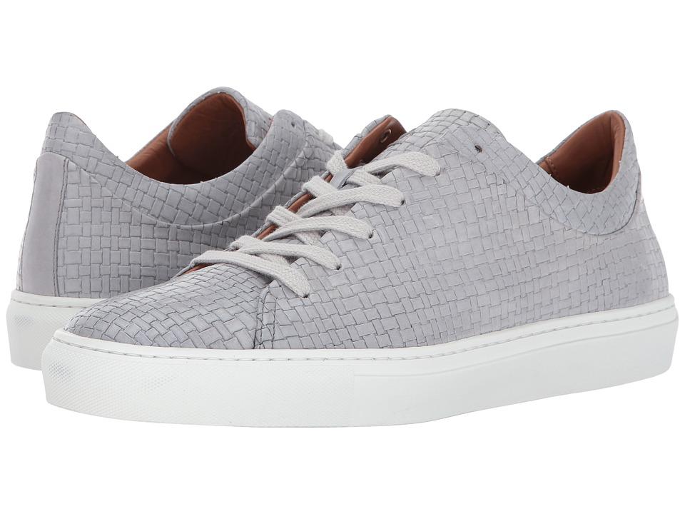 Image of Aquatalia - Alaric (Light Grey Embossed Soft Full Grain) Men's Lace up casual Shoes