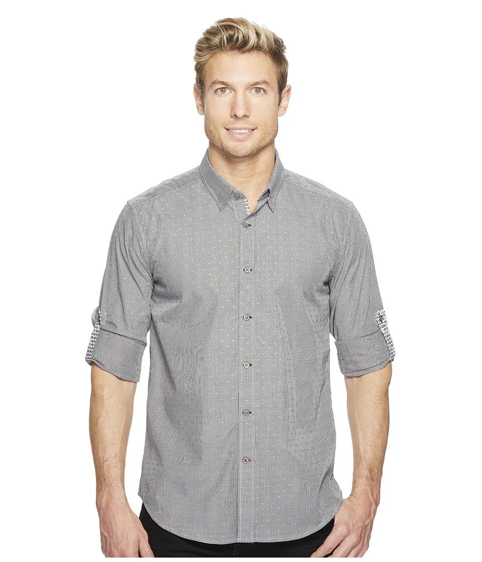 Robert Graham - Modern Americana Carlos Long Sleeve Woven Shirt (Black) Men's T Shirt