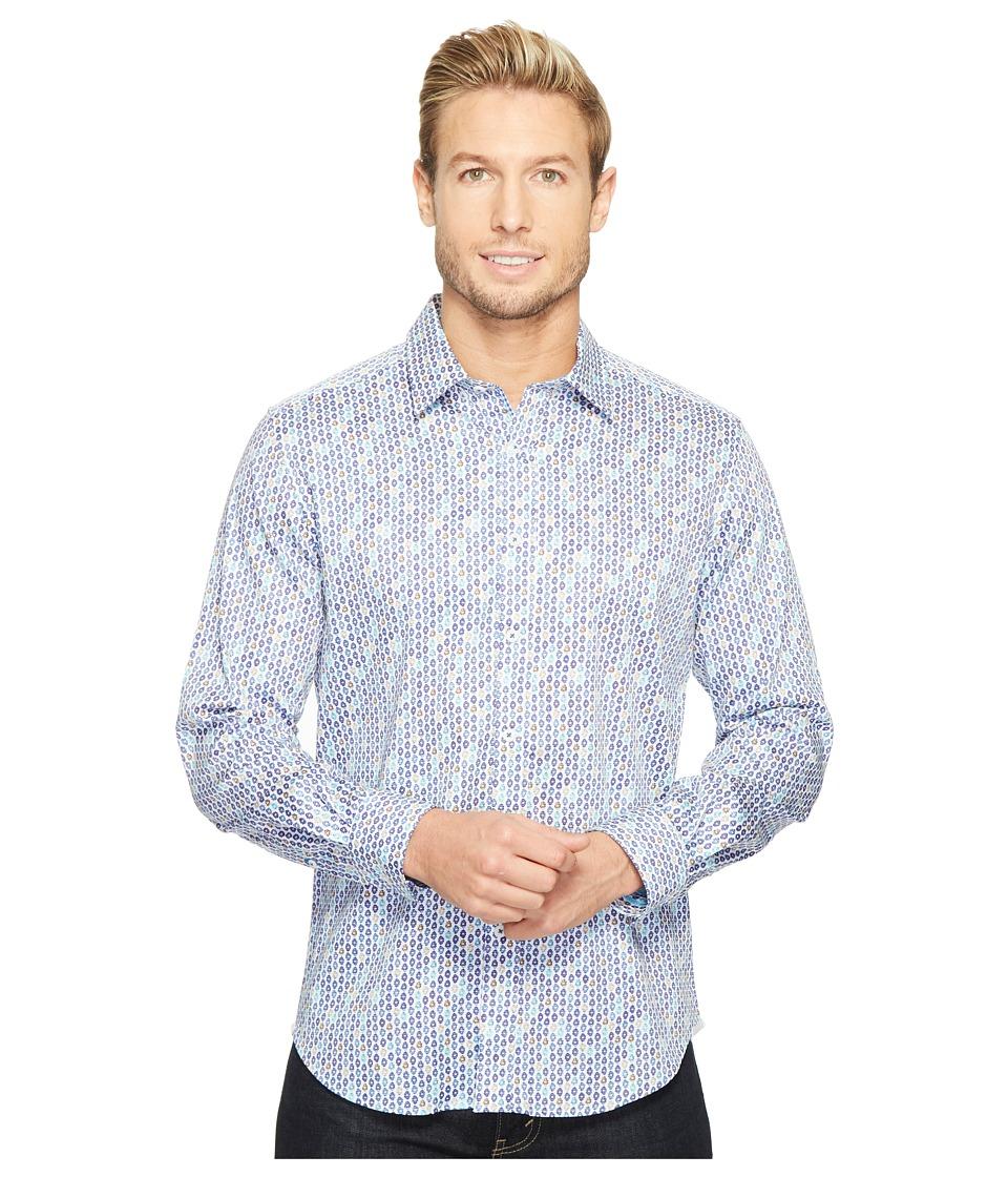 Robert Graham - Modern Americana Stafford Long Sleeve Woven Shirt (Blue) Men's T Shirt