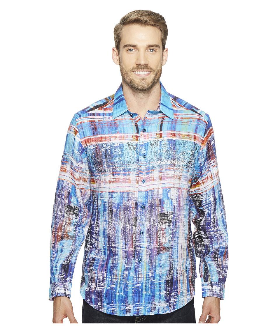 Robert Graham - Calabasas Long Sleeve Woven Shirt (Multi) Men's T Shirt