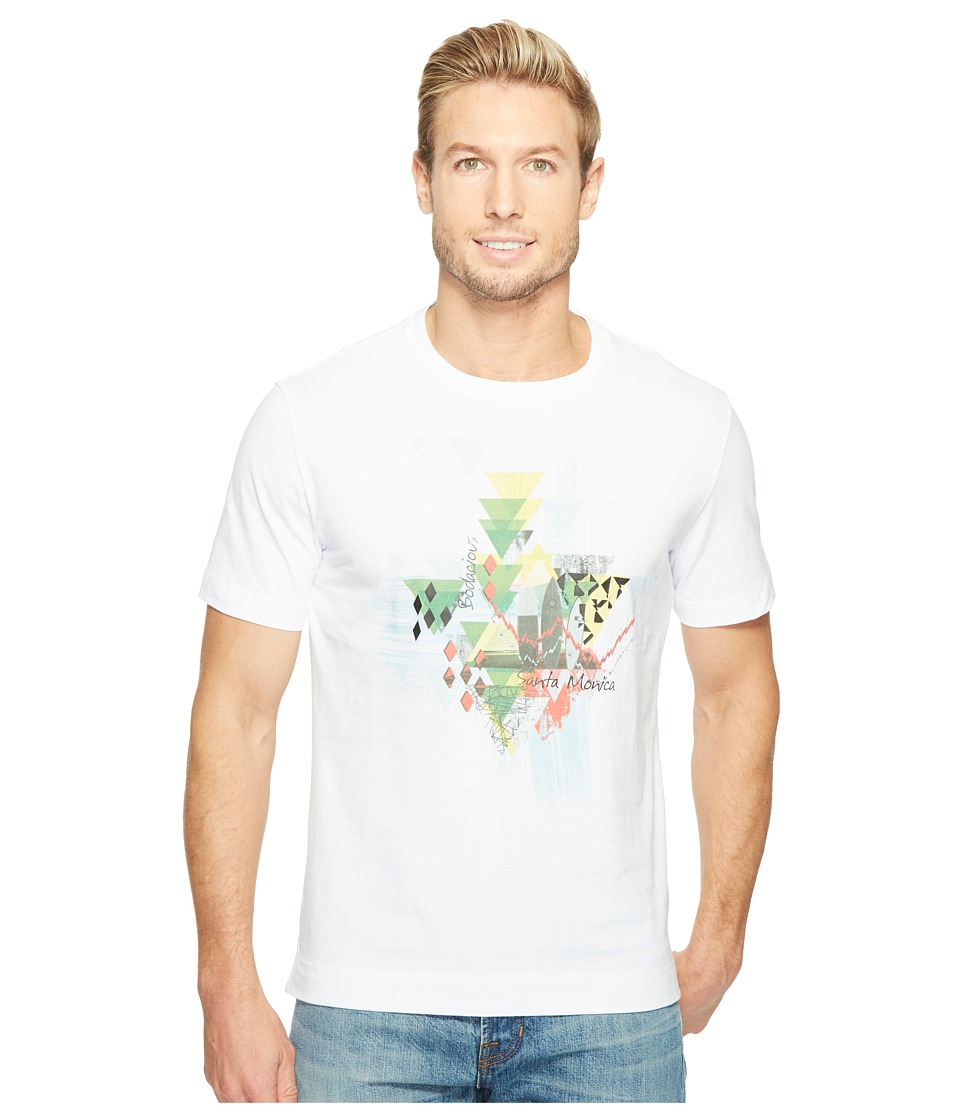 Robert Graham - Monica Pier Short Sleeve Knit Shirt (White) Men's T Shirt