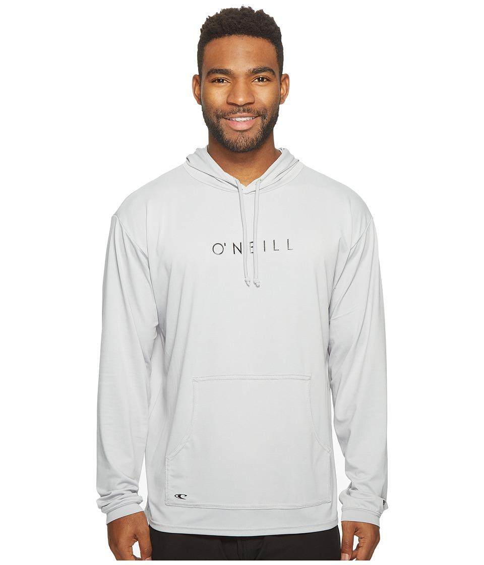 O'Neill - 24-7 Tech Long Sleeve Hoodie (Cool Grey) Men's Swimwear