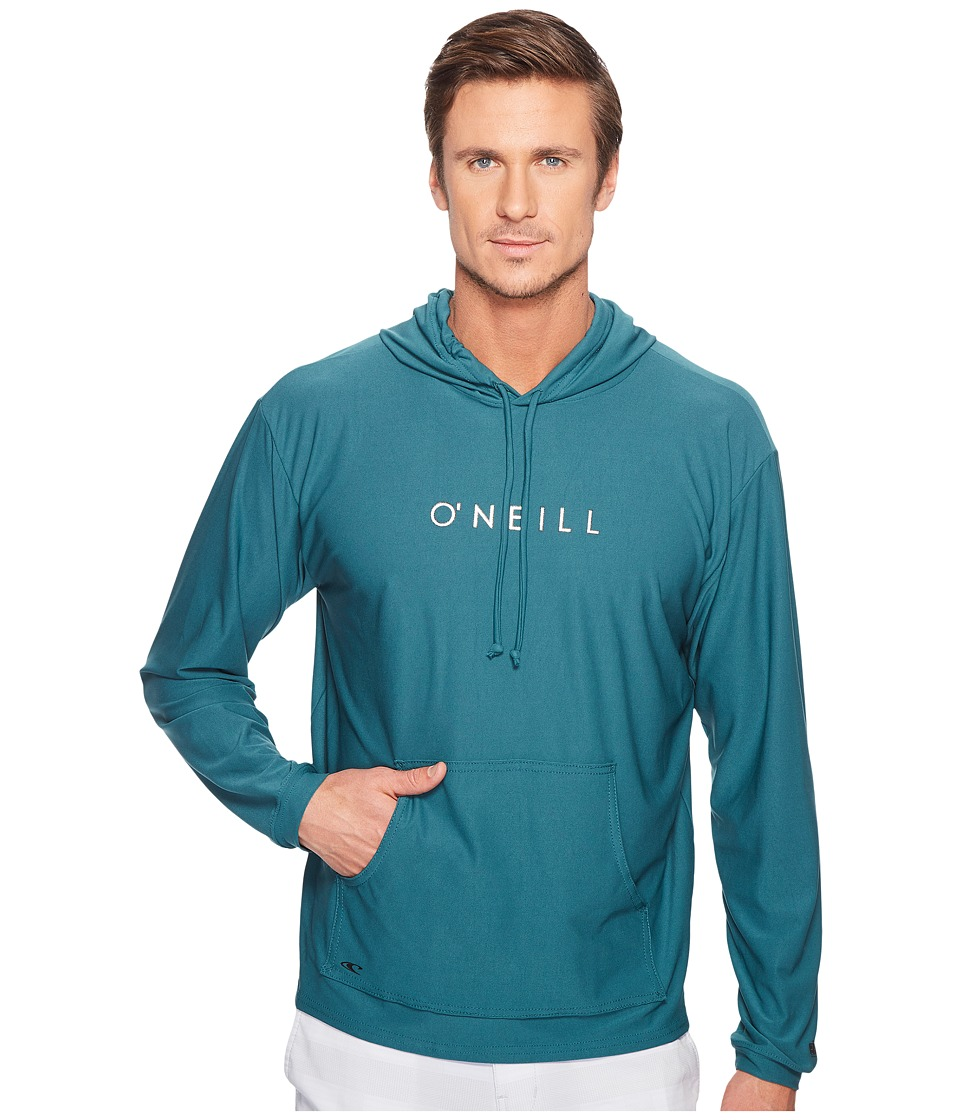 O'Neill - 24-7 Tech Long Sleeve Hoodie (Ink) Men's Swimwear
