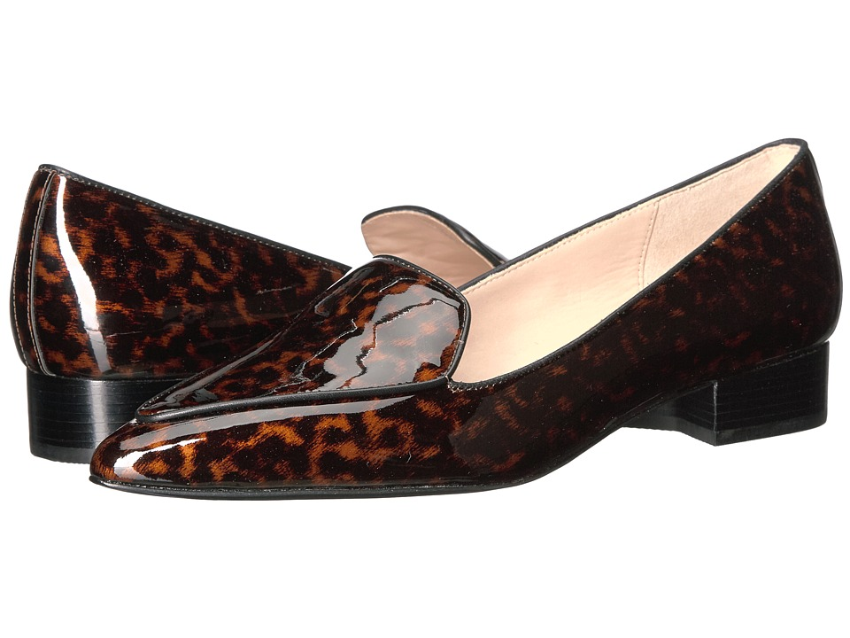 Cole Haan - Dellora Skimmer (Tortoise Patent/Brown) Women's Shoes