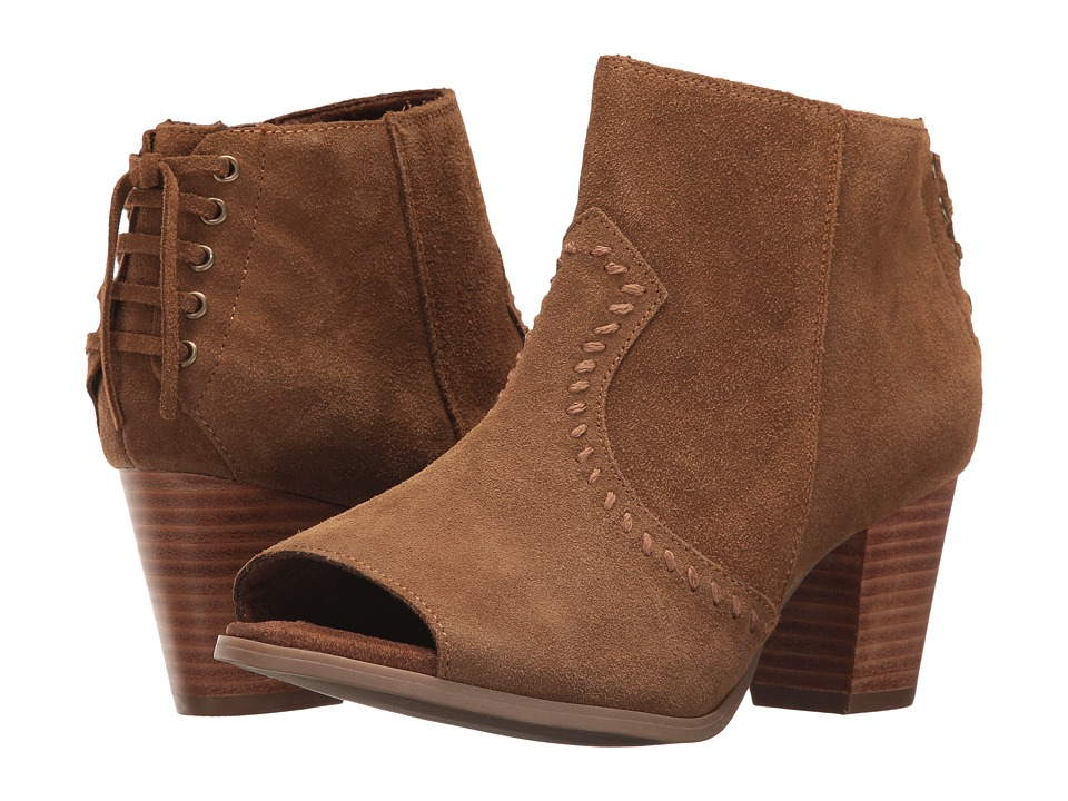 Minnetonka Melanie Bootie (Dusty Brown Suede) Women