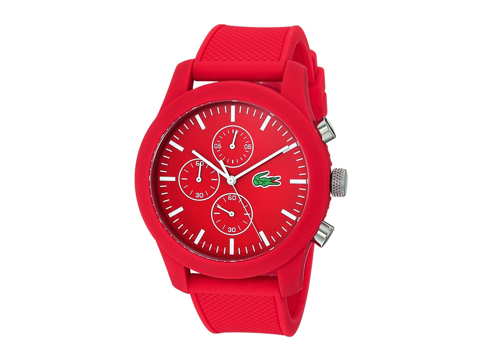 Lacoste - 2010825 - LACOSTE.12.12 (Red) Watches