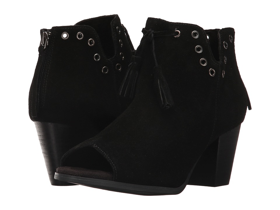 Minnetonka Margot Bootie (Black Suede) Women