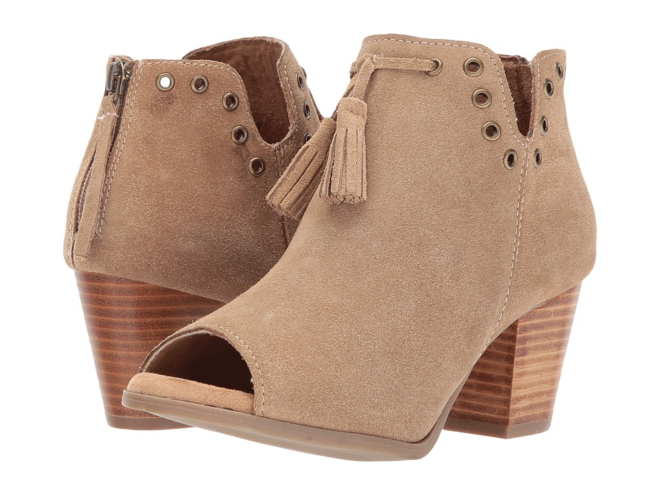 Minnetonka Margot Bootie (Taupe Suede) Women