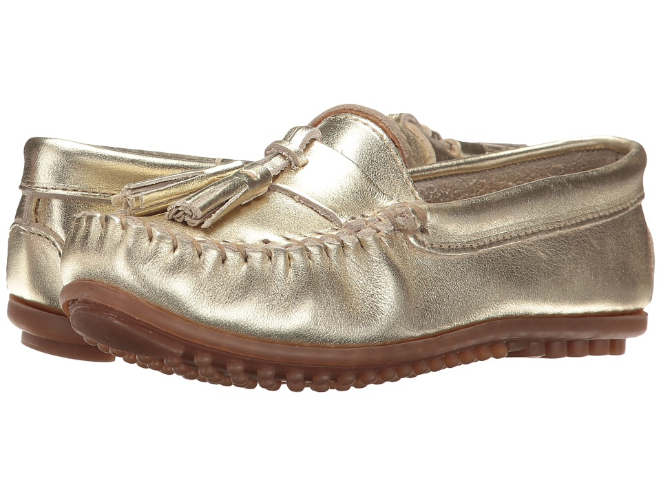 Minnetonka Grace Moc (Gold Leather) Women