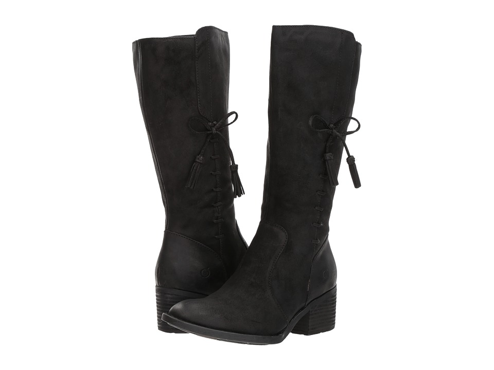 Born - Beckett (Black Distressed) Women's Shoes