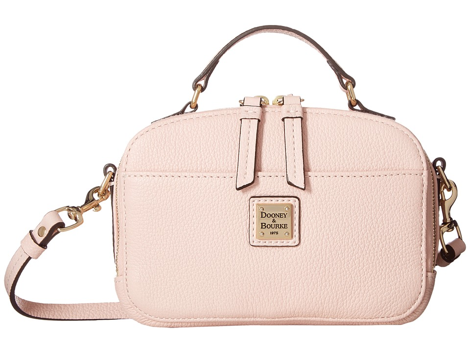 Dooney & Bourke - Belvedere Ambler (Blush w/ Self Trim) Handbags