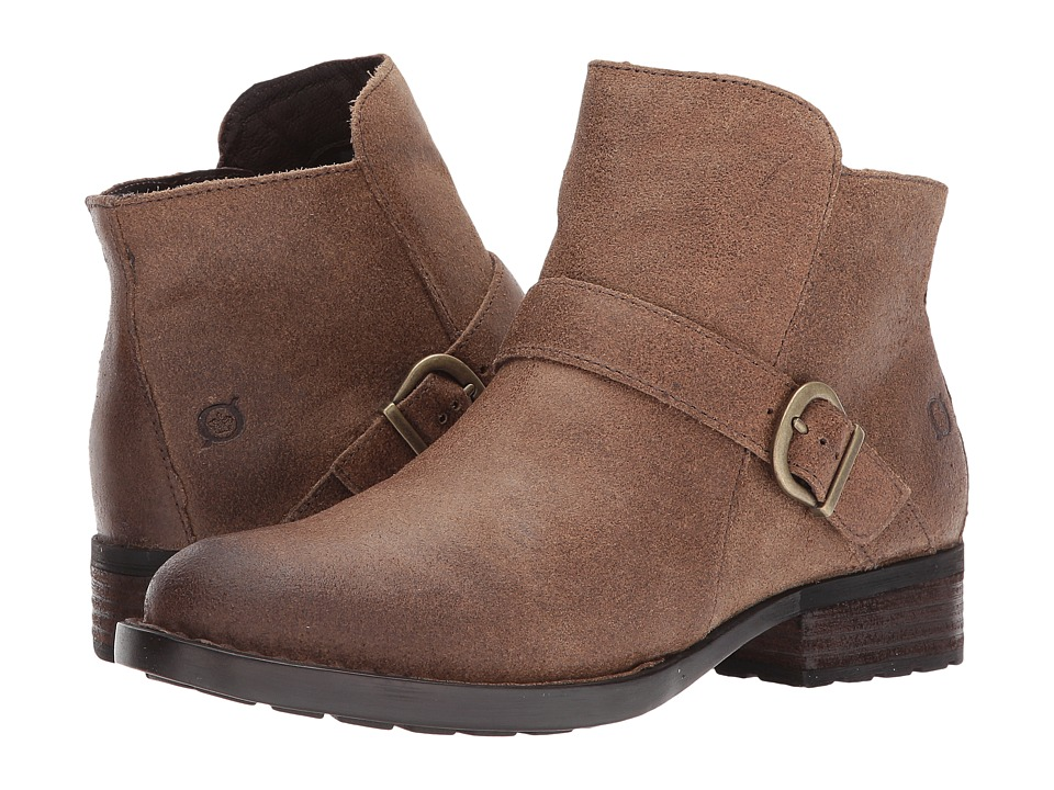 Born - Maris (Taupe Distressed) Women's Shoes