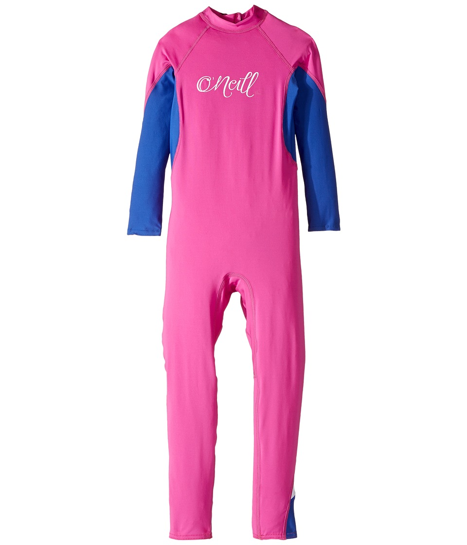 O'Neill Kids - O'Zone UV Full Wetsuit (Infant/Toddler/Little Kids) (Berry/Tahitian Blue/White) Kid's Wetsuits One Piece
