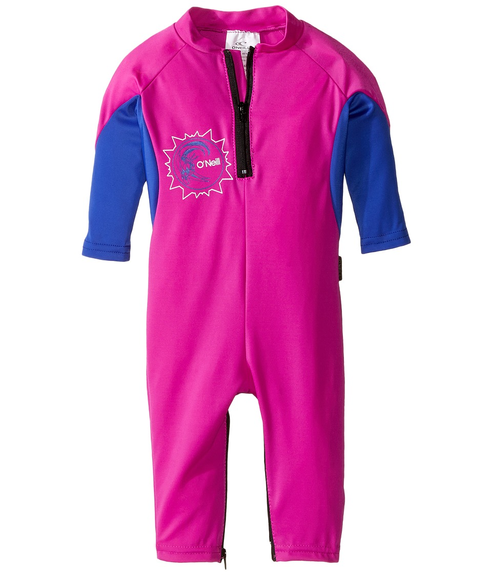 O'Neill Kids - O'Zone UV Full Wetsuit (Infant) (Berry/Tahitian Blue/White) Kid's Wetsuits One Piece