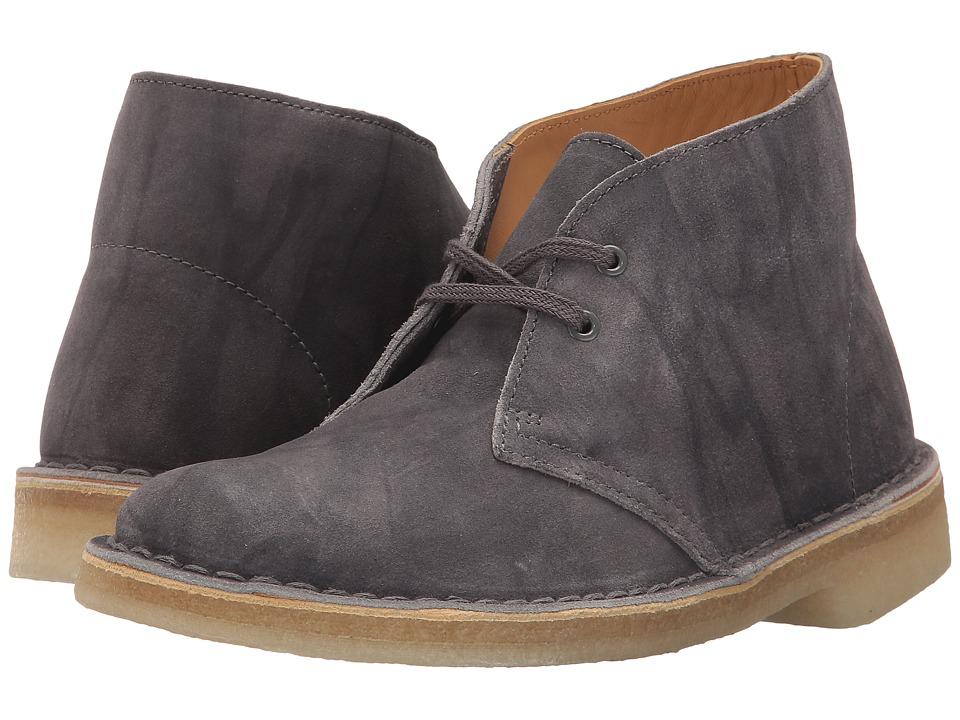 Clarks Desert Boot (Grey Suede) Women