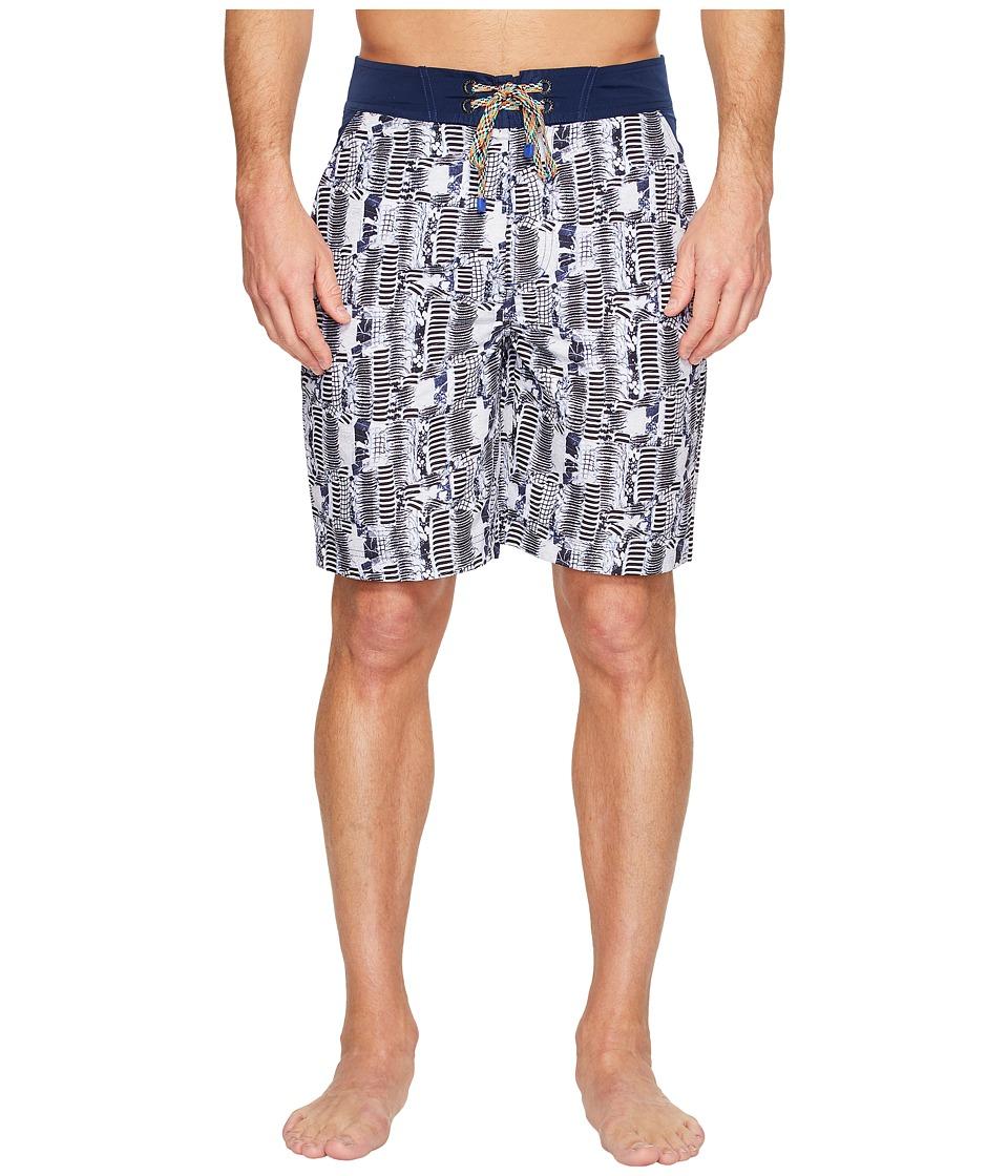 Robert Graham - Tongva Park Woven Swim Trunk (Multi) Men's Swimwear