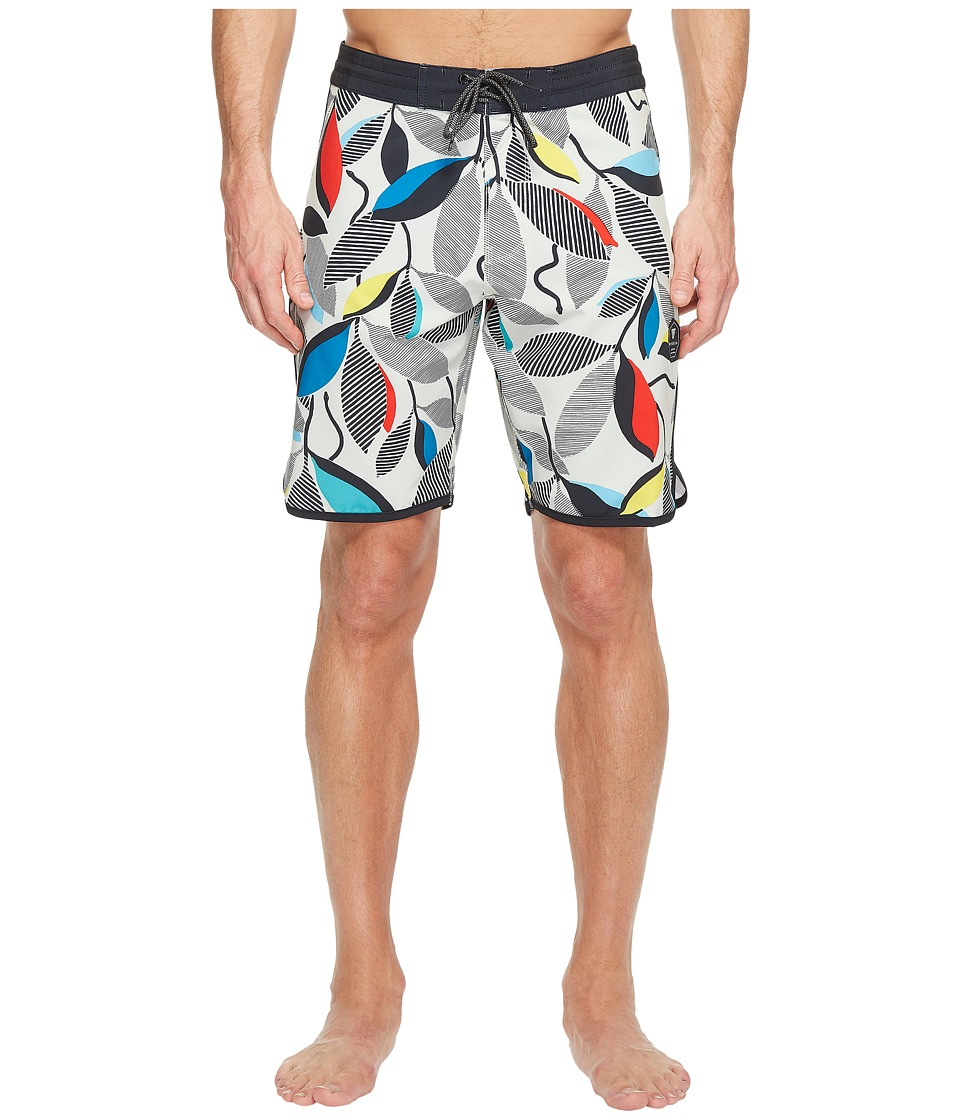 VISSLA - Sea Snake Four-Way Stretch Boardshorts 20 (Bone) Men's Swimwear