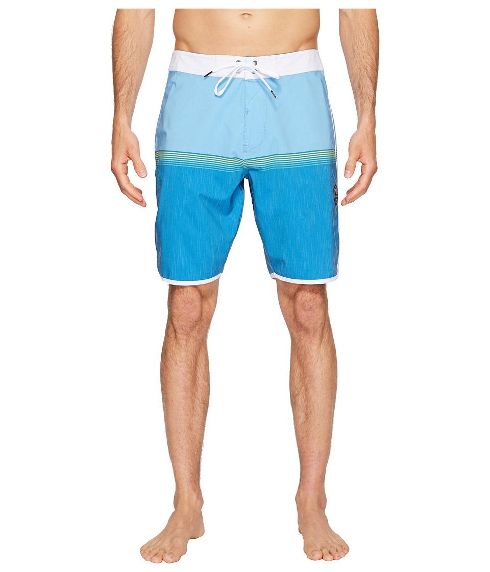 VISSLA - Dredges 20 Boardshort (Blue Fog) Men's Swimwear