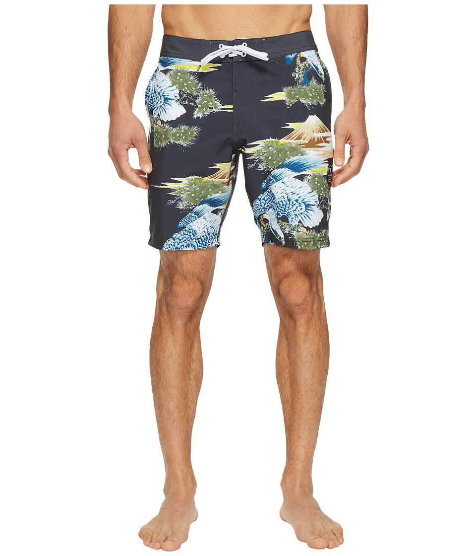 VISSLA Sake Bomb Four-Way Stretch Boardshorts 18.5 (Phantom) Men