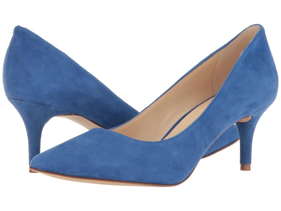 Nine West - Margot (Dark Blue Suede) High Heels