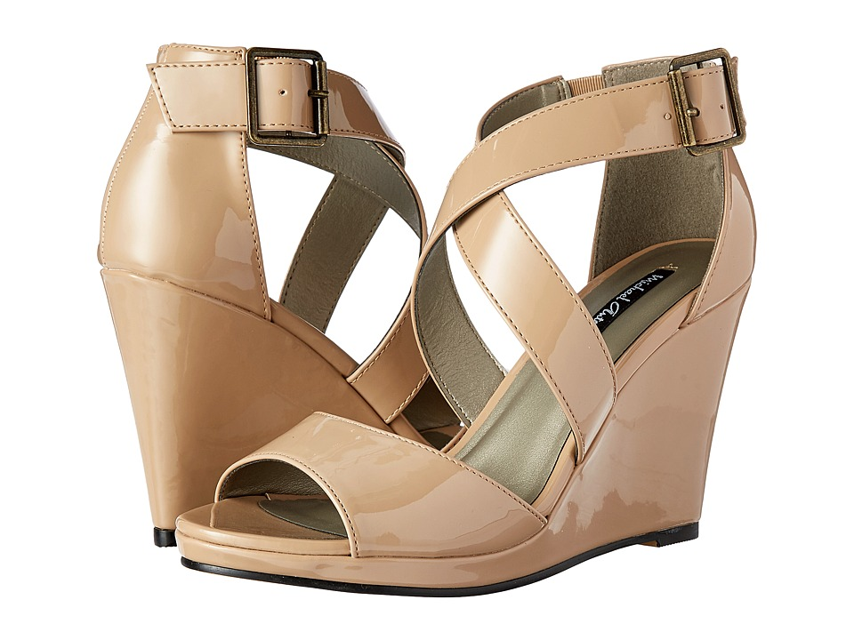Michael Antonio - Amis (Nude) Women's Wedge Shoes