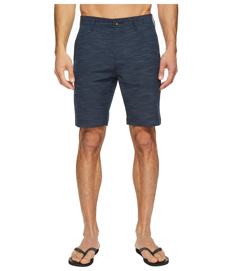 VISSLA - Fin Rope 4-Way Stretch Hybrid Walkshorts 20 (Eclipse) Men's Shorts