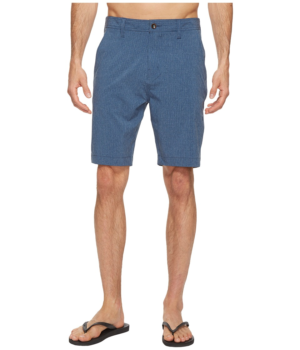 VISSLA - Lagoon Four-Way Stretch Hybrid Walkshorts 20 (Strong Blue) Men's Shorts