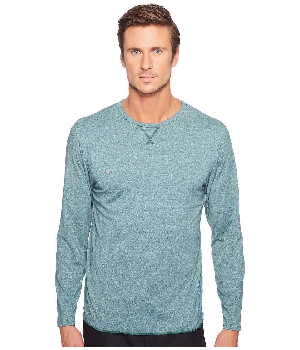 O'Neill - Hybrid Long Sleeve Surf Tee (Ink) Men's Swimwear