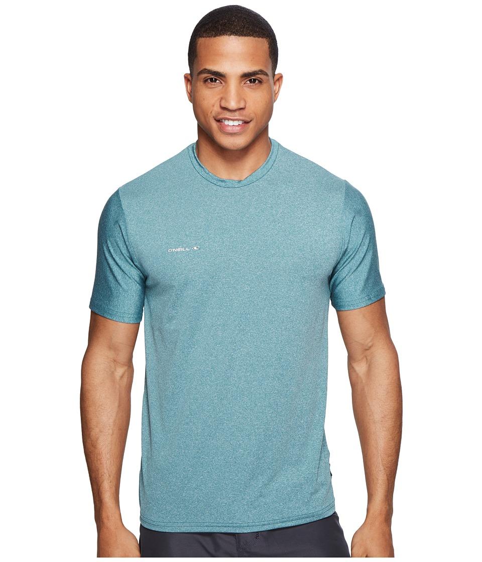 O'Neill - Hybrid Short Sleeve Surf Tee (Ink) Men's Swimwear