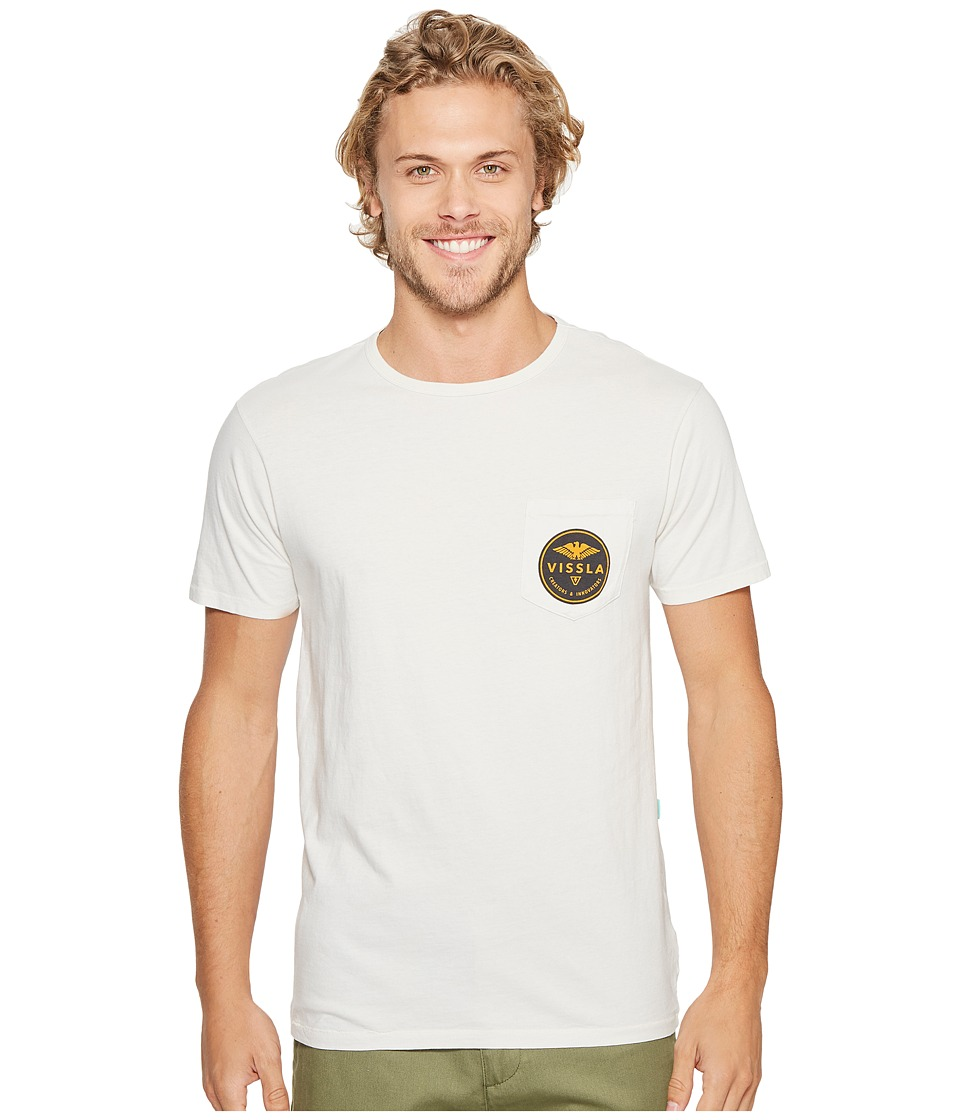 VISSLA - Commando Short Sleeve Tee (Bone) Men's T Shirt
