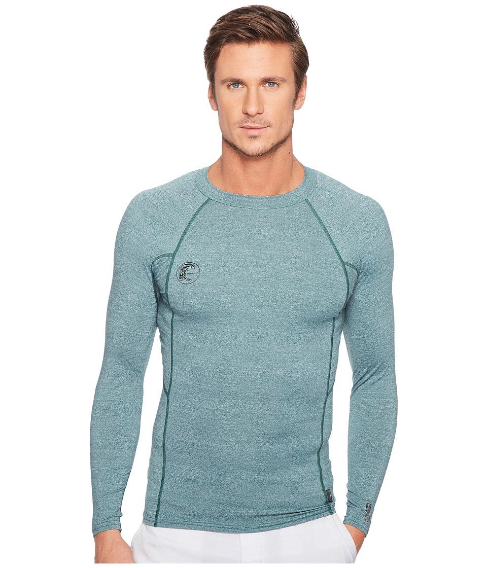 O'Neill - Hybrid Long Sleeve Crew (Ink) Men's Swimwear