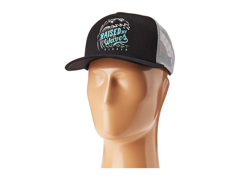 VISSLA - Slammed Hat (Black) Caps