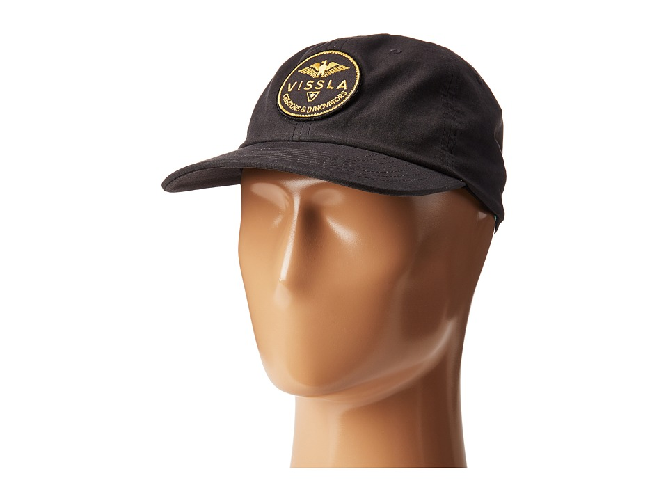 VISSLA - Comando Hat (Black) Caps