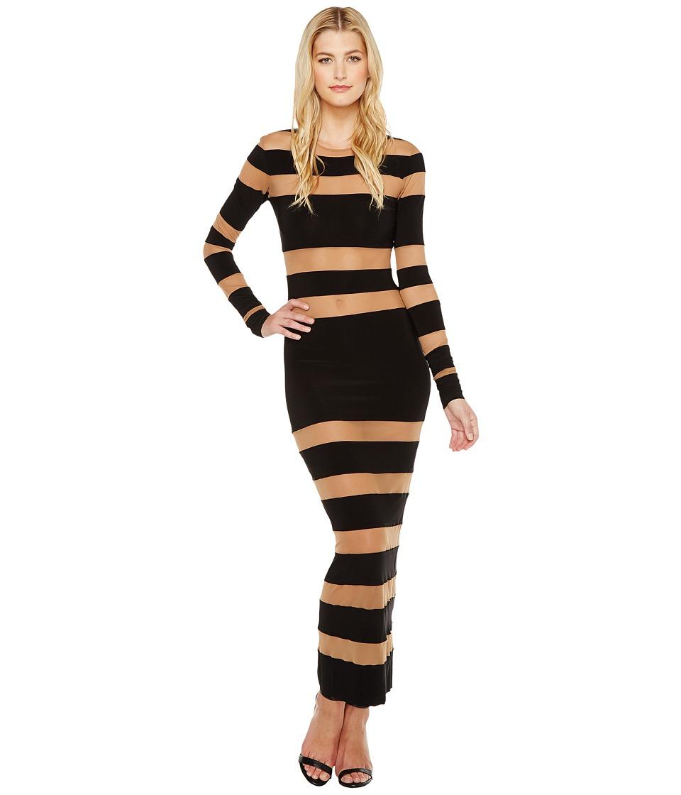 KAMALIKULTURE by Norma Kamali - Spliced Dress (Black) Women's Dress