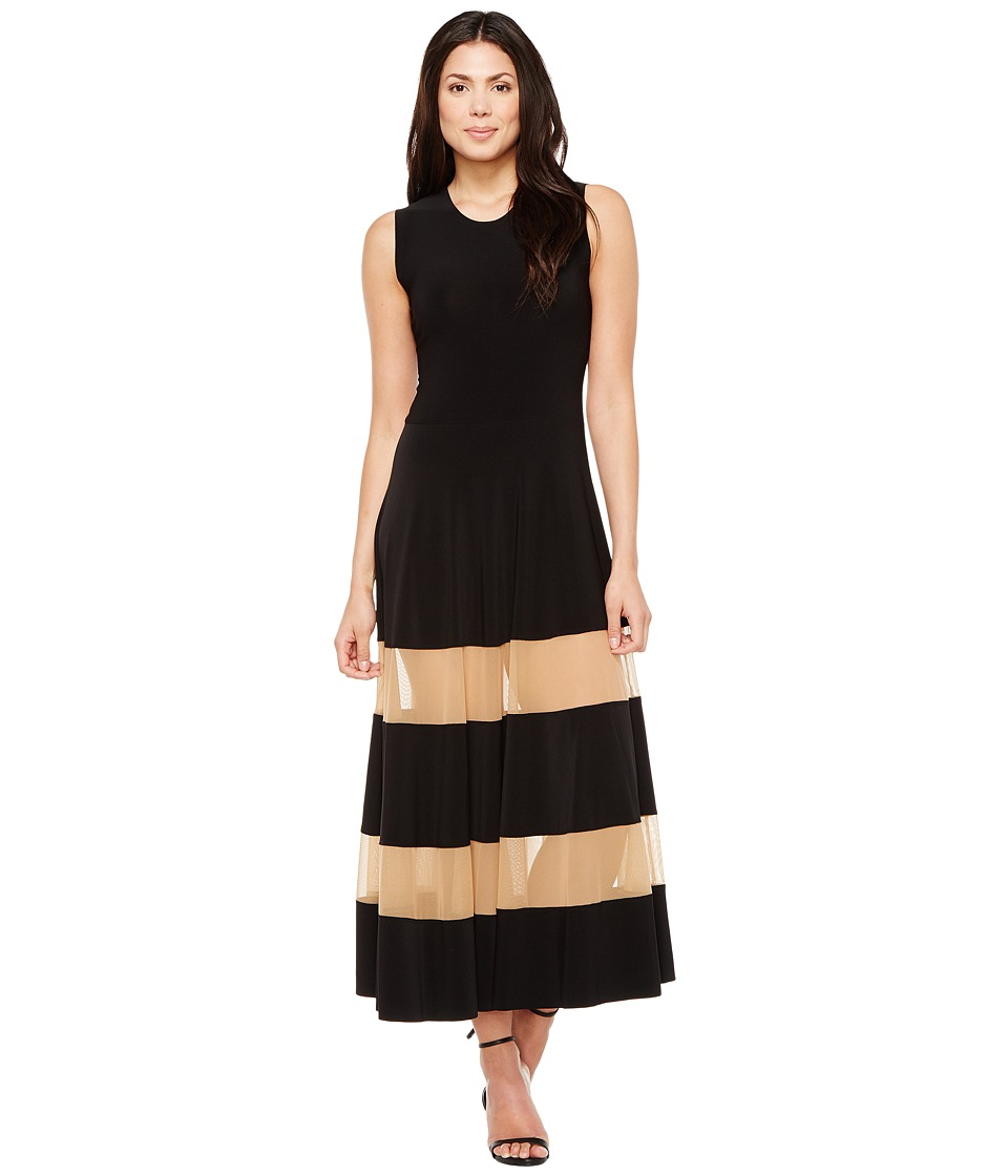 KAMALIKULTURE by Norma Kamali Spliced Flared Dress