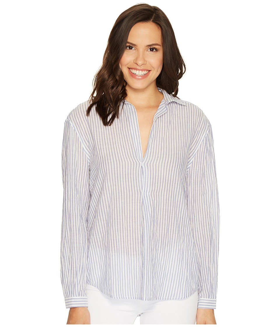 Joe's Jeans - Dana Striped Shirt (Blue/White) Women's Clothing