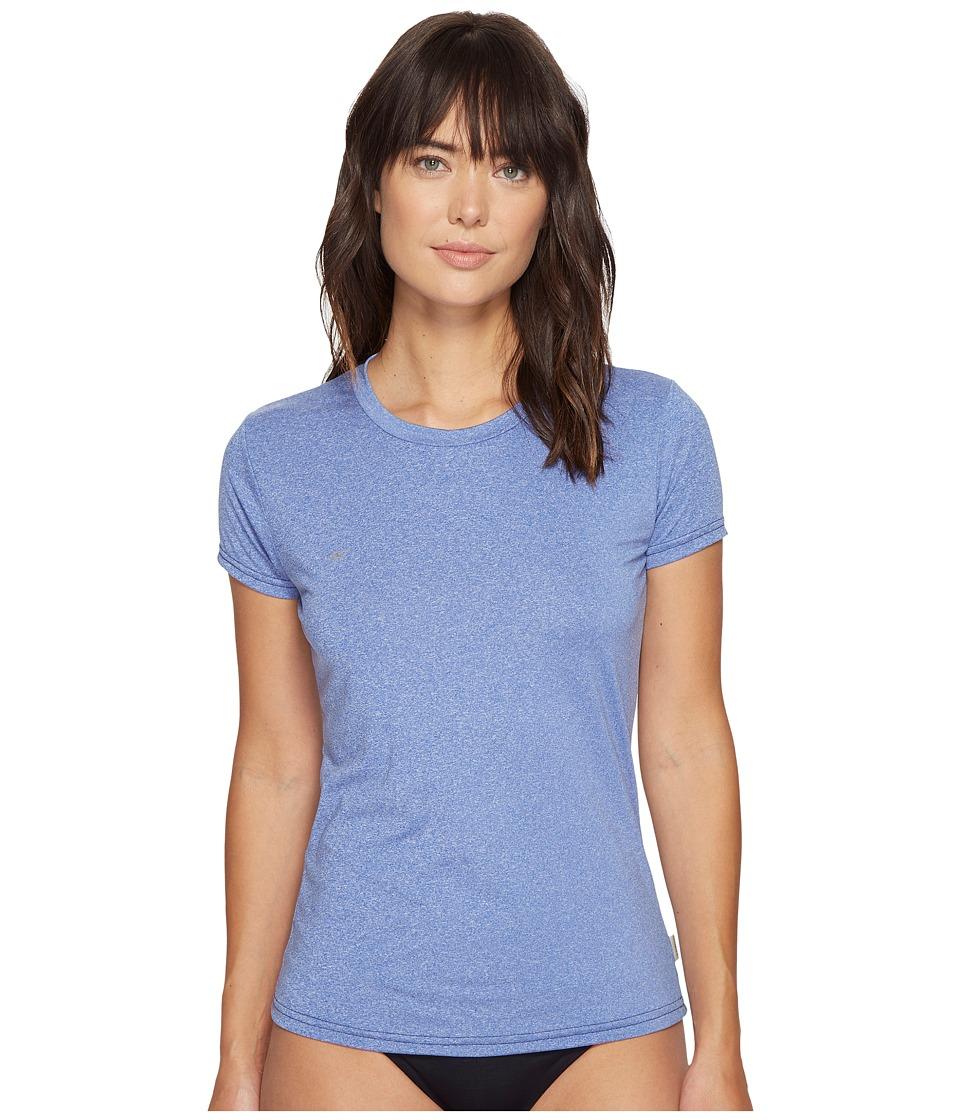 O'Neill - 24-7 Hybrid Short Sleeve Tee (Tahitian Blue) Women's Swimwear