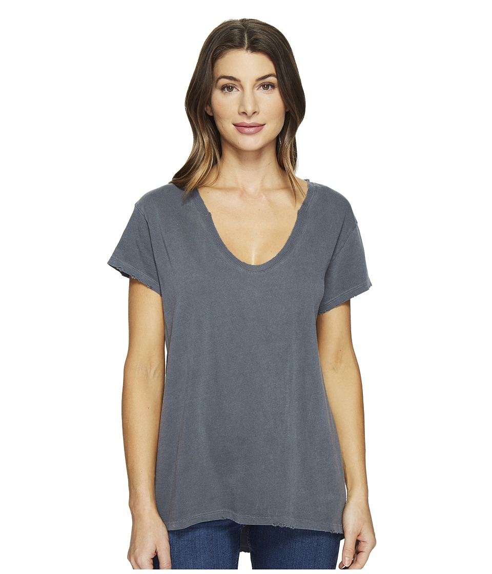 Joe's Jeans - Layne Tee (Black Smoke) Women's T Shirt