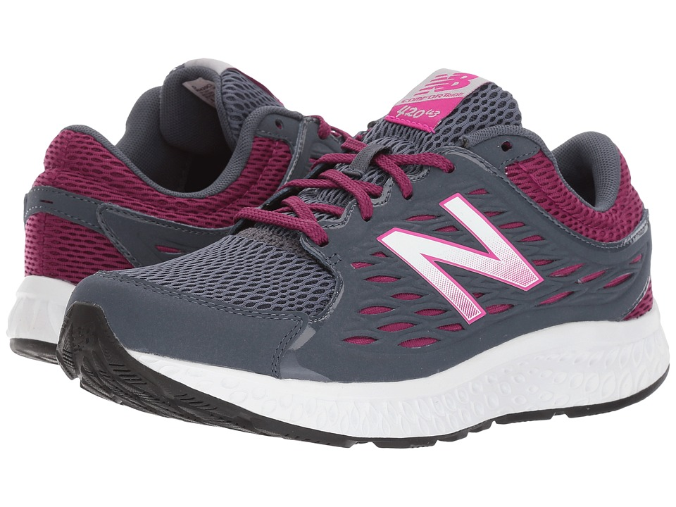 New Balance - 420v3 (Thunder/Mulberry) Women's Running Shoes