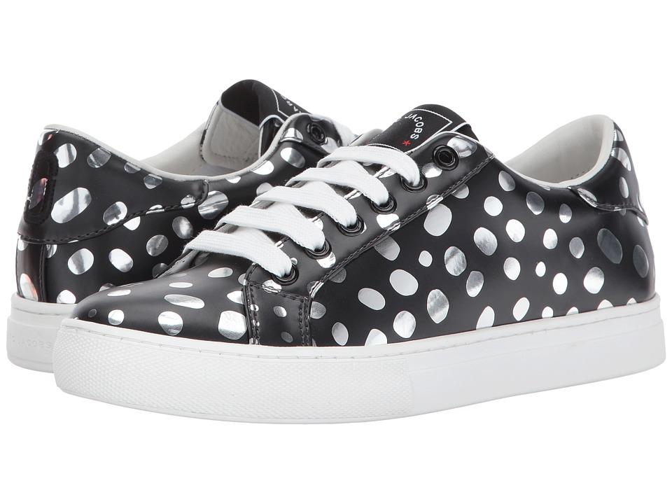 Marc Jacobs Empire Low Top Sneaker (Dark Silver Multi) Women