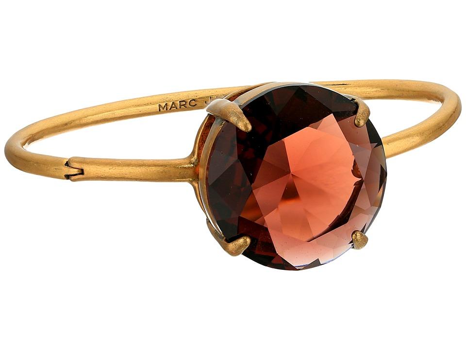 Marc Jacobs - Large Stone Hinge Cuff Bracelet (Blush Rose) Bracelet