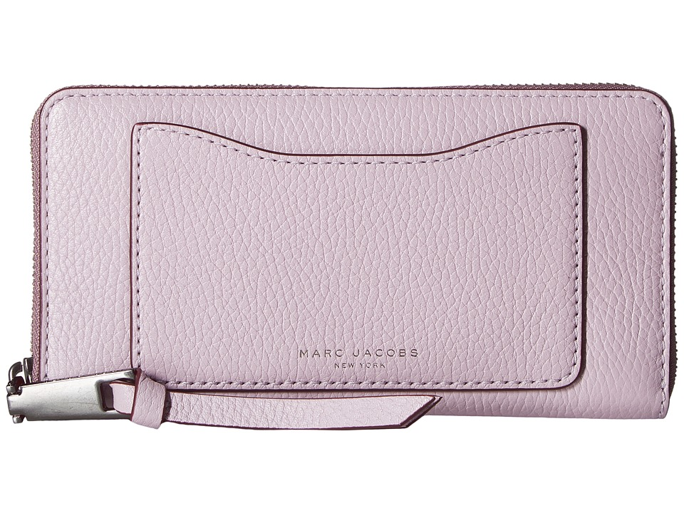 Marc Jacobs - Recruit Standard Continental Wallet (Pale Lilac) Wallet Handbags